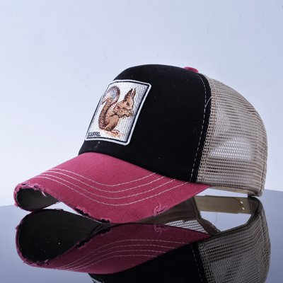 TQMSMY Unisex sun hats for men Hip Hop Hat Breathable Mesh Baseball Caps Women Embroidery panda Snapback caps Summer Gorras 28