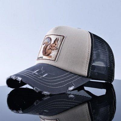 TQMSMY Unisex sun hats for men Hip Hop Hat Breathable Mesh Baseball Caps Women Embroidery panda Snapback caps Summer Gorras 30