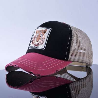 TQMSMY Unisex sun hats for men Hip Hop Hat Breathable Mesh Baseball Caps Women Embroidery panda Snapback caps Summer Gorras 32