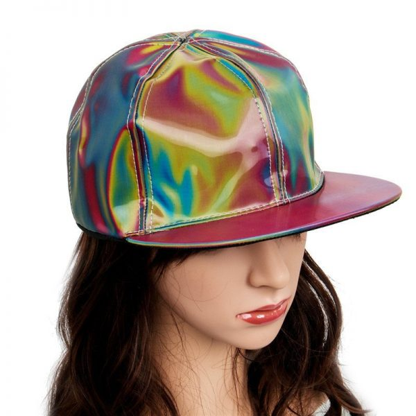 Takerlama Fashion Marty McFly Licensed for Rainbow Color Changing Hat Cap Back to the Future Prop Bigbang G-Dragon Baseball Cap 4