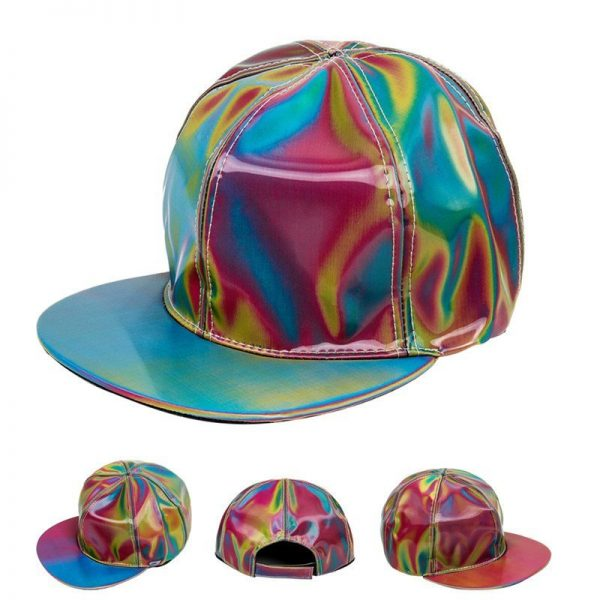 Takerlama Fashion Marty McFly Licensed for Rainbow Color Changing Hat Cap Back to the Future Prop Bigbang G-Dragon Baseball Cap 6