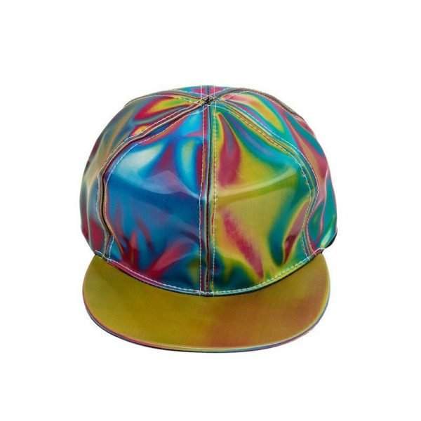 Takerlama Fashion Marty McFly Licensed for Rainbow Color Changing Hat Cap Back to the Future Prop Bigbang G-Dragon Baseball Cap 8