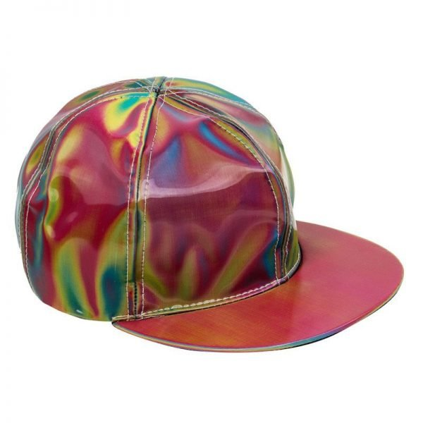 Takerlama Fashion Marty McFly Licensed for Rainbow Color Changing Hat Cap Back to the Future Prop Bigbang G-Dragon Baseball Cap 10