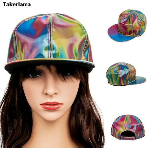 Takerlama Fashion Marty McFly Licensed for Rainbow Color Changing Hat Cap Back to the Future Prop Bigbang G-Dragon Baseball Cap 2