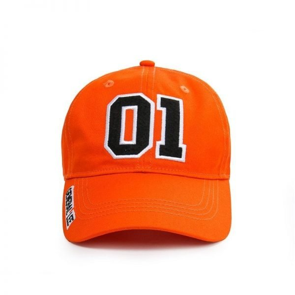 Takerlama New General Lee 01 Embroidered Cotton Twill Cap Hat Dukes of Hazzard Good OL' Boy Unisex Adult Applique Baseball Hat 4
