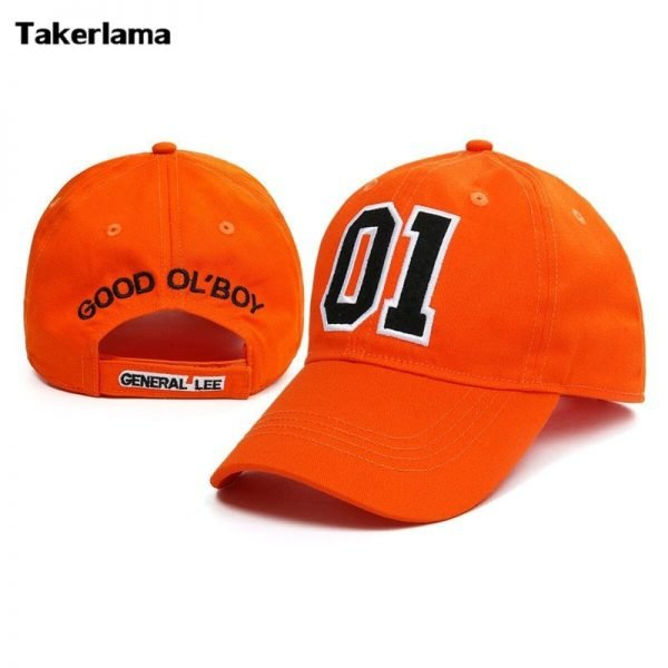 Takerlama New General Lee 01 Embroidered Cotton Twill Cap Hat Dukes of Hazzard Good OL' Boy Unisex Adult Applique Baseball Hat 2