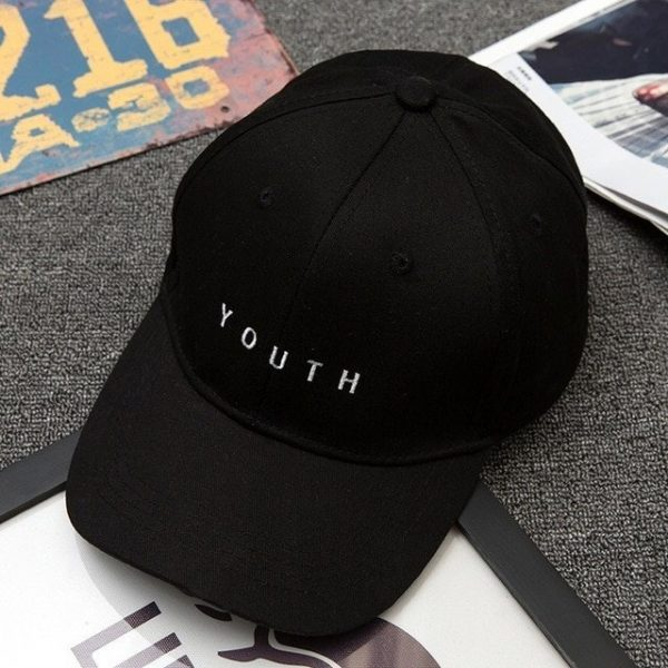 Unisex Letter Printed Solid Caps Men Women Ring Hip Hop Baseball Cap Cotton Snapback Caps Hat Summer Autumn 16