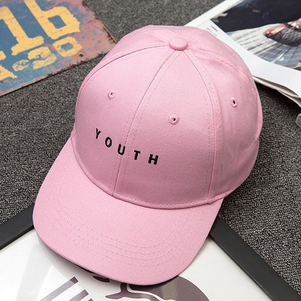 Unisex Letter Printed Solid Caps Men Women Ring Hip Hop Baseball Cap Cotton Snapback Caps Hat Summer Autumn 18