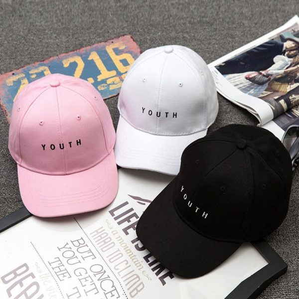 Unisex Letter Printed Solid Caps Men Women Ring Hip Hop Baseball Cap Cotton Snapback Caps Hat Summer Autumn 10