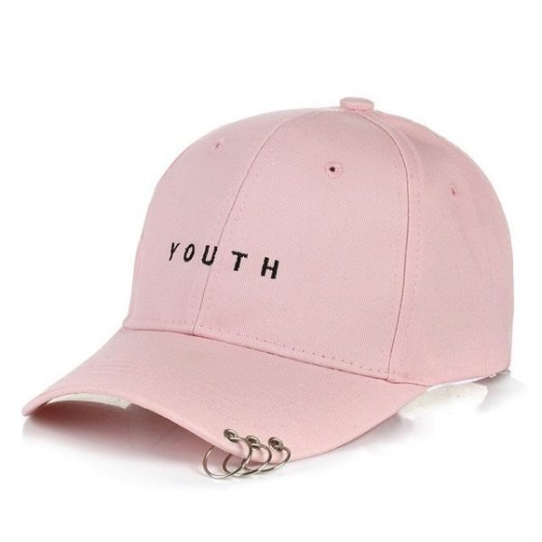 Unisex Letter Printed Solid Caps Men Women Ring Hip Hop Baseball Cap Cotton Snapback Caps Hat Summer Autumn 22