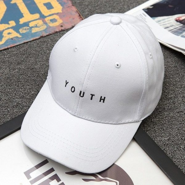 Unisex Letter Printed Solid Caps Men Women Ring Hip Hop Baseball Cap Cotton Snapback Caps Hat Summer Autumn 14