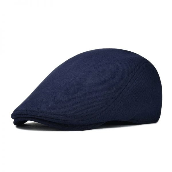 VOBOOM Cotton Men Women Soft Beret Flat Cap Driver Retro Vintage Soft Boina Casual Baker Newsboy Caps Cabbie Hat 312 6
