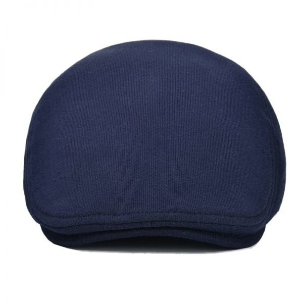VOBOOM Cotton Men Women Soft Beret Flat Cap Driver Retro Vintage Soft Boina Casual Baker Newsboy Caps Cabbie Hat 312 8