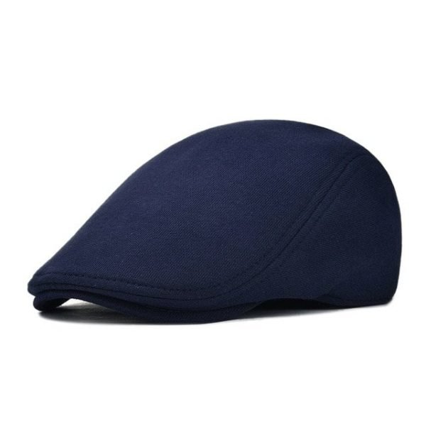 VOBOOM Cotton Men Women Soft Beret Flat Cap Driver Retro Vintage Soft Boina Casual Baker Newsboy Caps Cabbie Hat 312 20
