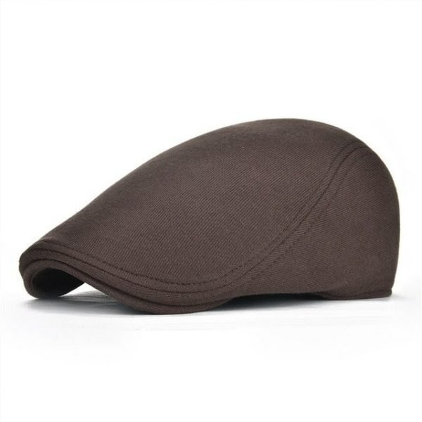 VOBOOM Cotton Men Women Soft Beret Flat Cap Driver Retro Vintage Soft Boina Casual Baker Newsboy Caps Cabbie Hat 312 22