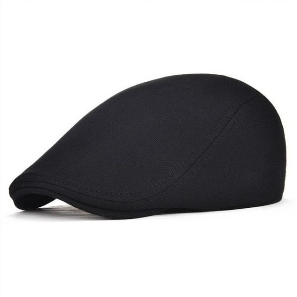 VOBOOM Cotton Men Women Soft Beret Flat Cap Driver Retro Vintage Soft Boina Casual Baker Newsboy Caps Cabbie Hat 312 14