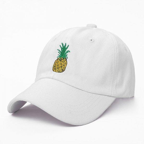 VORON men women Pineapple Dad Hat Baseball Cap Polo Style Unconstructed Fashion Unisex Dad cap hats 6