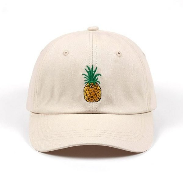 VORON men women Pineapple Dad Hat Baseball Cap Polo Style Unconstructed Fashion Unisex Dad cap hats 22