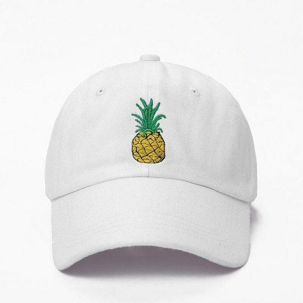 VORON men women Pineapple Dad Hat Baseball Cap Polo Style Unconstructed Fashion Unisex Dad cap hats 14