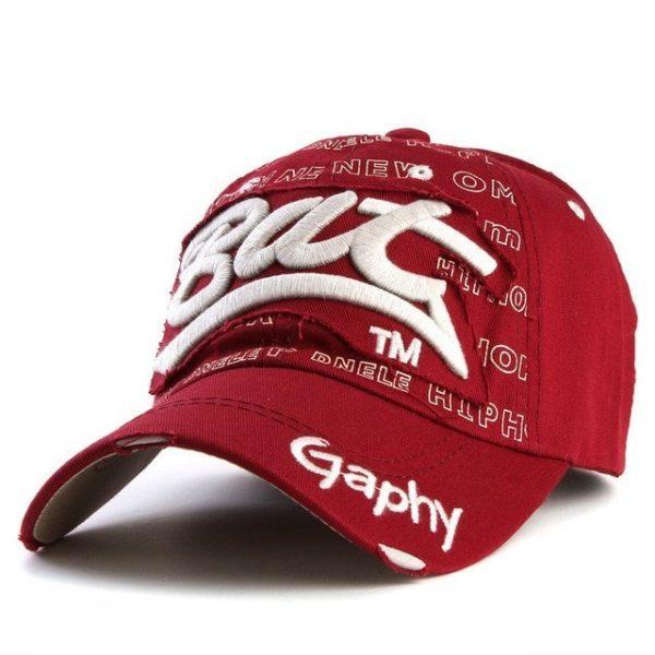 Xthree wholesale snapback hats baseball cap hats hip hop fitted cheap hats for men women gorras curved brim hats Damage cap 22