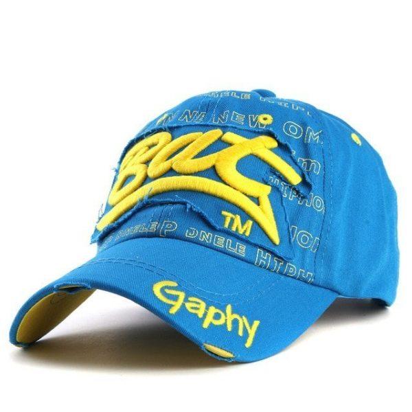 Xthree wholesale snapback hats baseball cap hats hip hop fitted cheap hats for men women gorras curved brim hats Damage cap 26