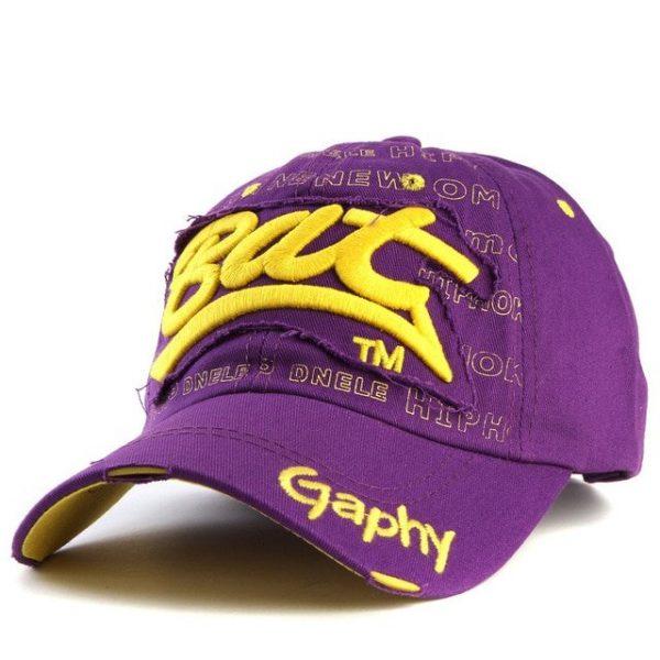 Xthree wholesale snapback hats baseball cap hats hip hop fitted cheap hats for men women gorras curved brim hats Damage cap 32