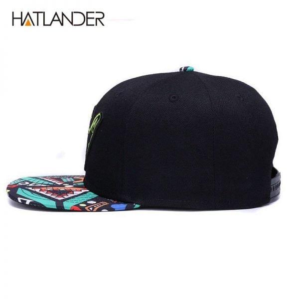 [HATLANDER]Brand Embroidery Retro baseball caps for men women bone snapbacks kenka black sports hats street art hip hop cap hat 2