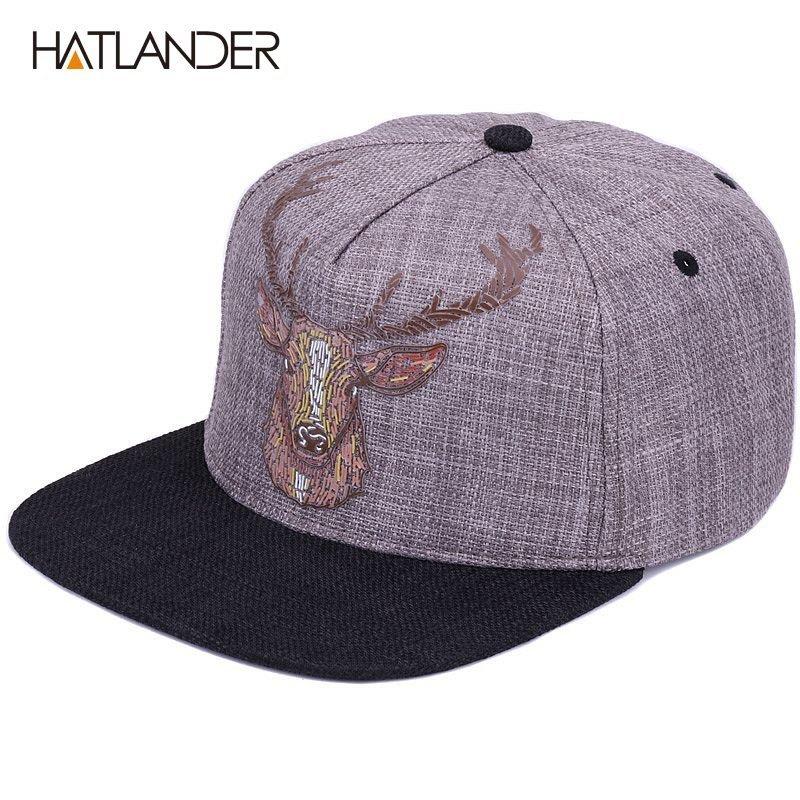 Hats for Men Women Baseball Cap Vintage Embroidery Snapback Sun Hat Outdoor Hat