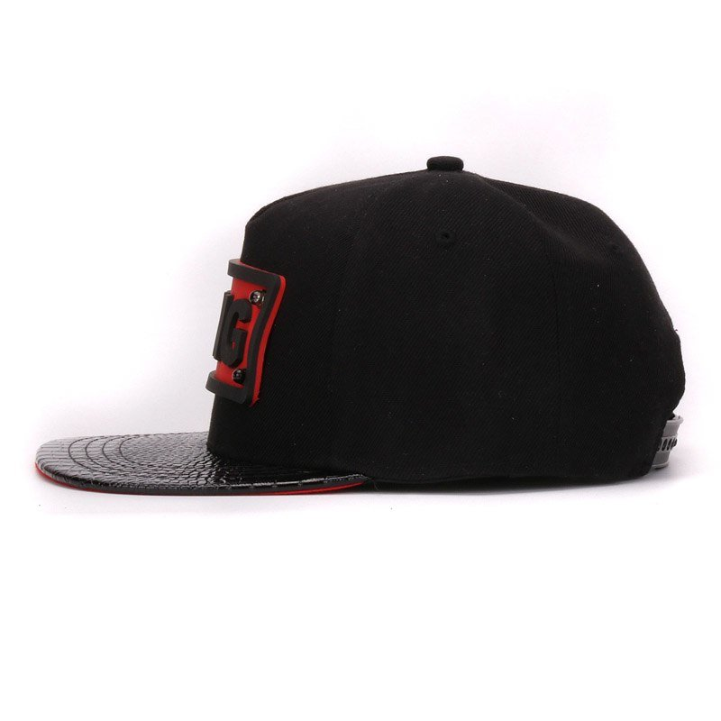 Baseball Caps Cotton And Leather Snap-back Cap Hip-hop Hats For Kids And Adult