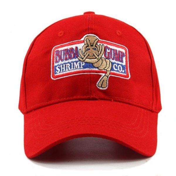 1994 BUBBA GUMP SHRIMP Baseball cap men women Sport hats Summer Cap Embroidered casual Hat Forrest Gump caps Costume wholesale 2