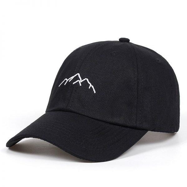 2020 new Mountain range embroidery Mens Womens Baseball Caps Adjustable Snapback Caps Fashion dad Hats Bone Garros 4