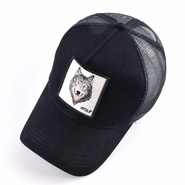 8 Kinds of embroidery animal Baseball Caps men Breathable Mesh Snapback caps Unisex sun hat for women bone Casquette Hip Hop cap 2020 4