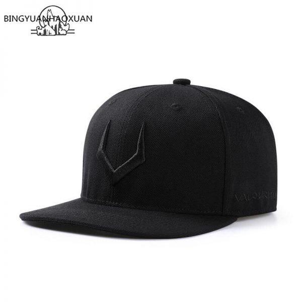 2020 High Quality Gray Wool Snapback 3D Pierced Embroidery Hip Hop Cap Flat Bill Baseball Cap for Adult 4
