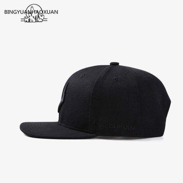 2020 High Quality Gray Wool Snapback 3D Pierced Embroidery Hip Hop Cap Flat Bill Baseball Cap for Adult 6
