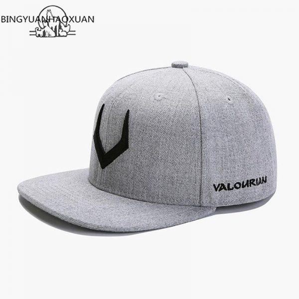 2020 High Quality Gray Wool Snapback 3D Pierced Embroidery Hip Hop Cap Flat Bill Baseball Cap for Adult 10