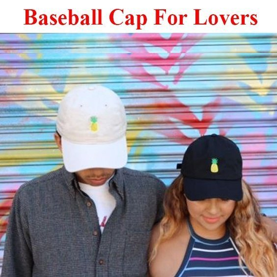 Baseball Cap Women Men Pineapple Embroidery dad hat Trucker Fashion Unisex Snapback hip hop cap Summer Hats Streetwear casquette 10