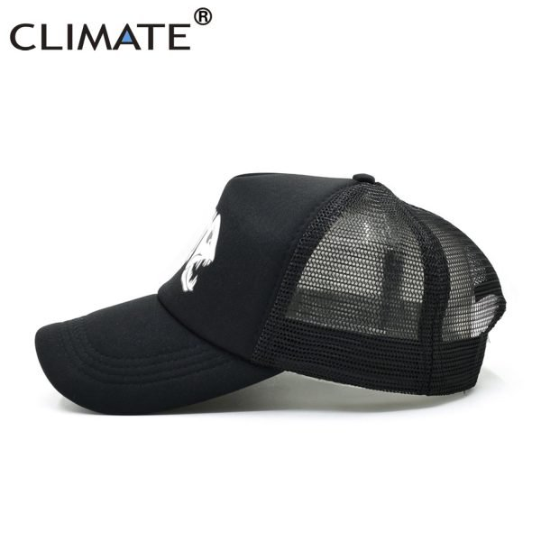 CLIMATE Fishbone Trucker Cap Men Fishing Skeleton Fish Bone Cap HipHop Baseball Caps Summer Fisher Man Mesh Caps Hat for Men 10