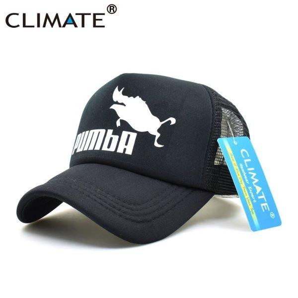 CLIMATE Funny Pumba Trucker Cap Lion King Cap Hakuna Matata Hat Men Baseball Caps Cool Summer Mesh Trucker Cap Hat for Men 4