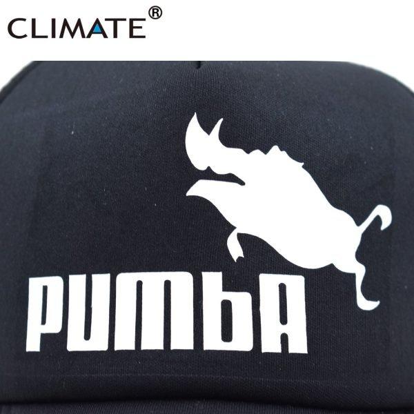 CLIMATE Funny Pumba Trucker Cap Lion King Cap Hakuna Matata Hat Men Baseball Caps Cool Summer Mesh Trucker Cap Hat for Men 6