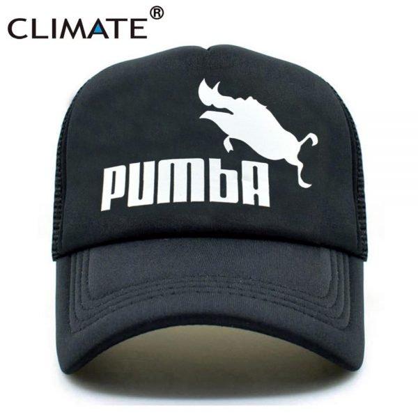 CLIMATE Funny Pumba Trucker Cap Lion King Cap Hakuna Matata Hat Men Baseball Caps Cool Summer Mesh Trucker Cap Hat for Men 2
