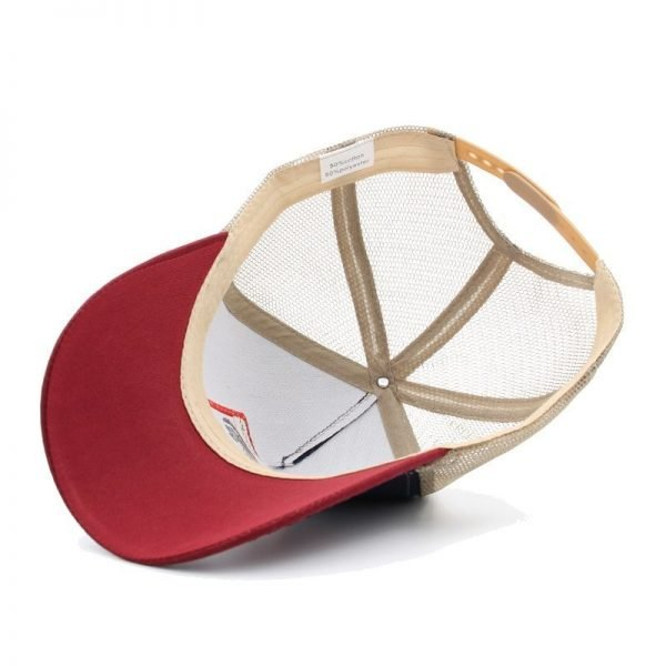 2020 Fashion Animals Embroidery Baseball Caps Men Women Snapback Hip Hop Hat Summer Mesh hat Streetwear Bone gorra animales bordados 3