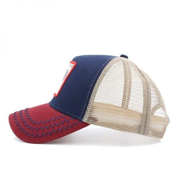2020 Fashion Animals Embroidery Baseball Caps Men Women Snapback Hip Hop Hat Summer Mesh hat Streetwear Bone gorra animales bordados 5