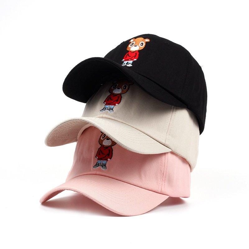 Kanye West Ye Bear Dad Hat Baseball Cap Summer for Men Women Caps Unisex Release Hip Hop Hot Style Hat