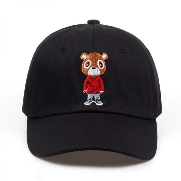 Newest Bear Dad Hat Lovely Baseball Cap Summer For Men Women Snapback Caps Unisex Exclusive Release Hip Hop Kanye West Ye Hat 2