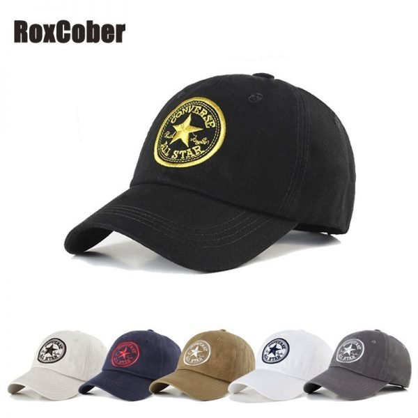 RoxCober Unisex men women Baseball Caps embroidery Visors Hat Hip Hop Snapback Caps Summer Outdoor Golf Hats gorra hombre gorras 1