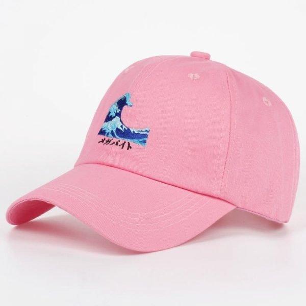 VORON Breathable Waves Snapback dad Caps Strapback Baseball Cap Bboy Hip-hop Hats For Men Women Fitted Hat Black pink white 4