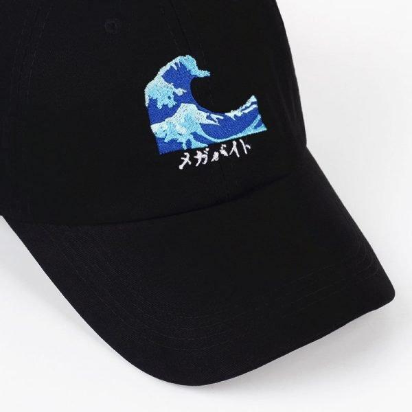 VORON Breathable Waves Snapback dad Caps Strapback Baseball Cap Bboy Hip-hop Hats For Men Women Fitted Hat Black pink white 12