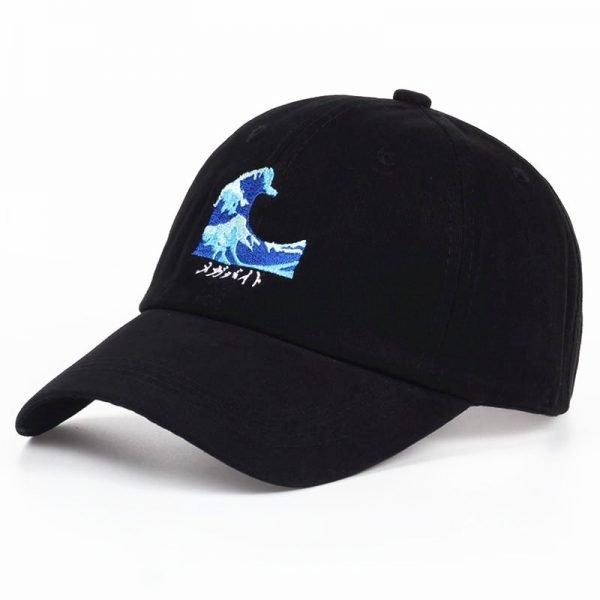 VORON Breathable Waves Snapback dad Caps Strapback Baseball Cap Bboy Hip-hop Hats For Men Women Fitted Hat Black pink white 2