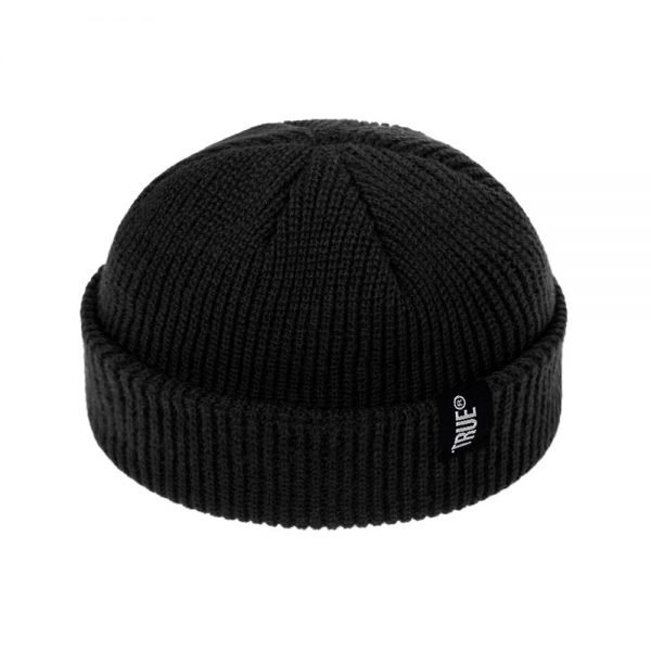 2021 Fashion Unisex Winter Hat Men Cuffed Cib Knit Hat Short Melon Ski Beanies Autumn Winter Solid Color Casual Beanie Hat 8