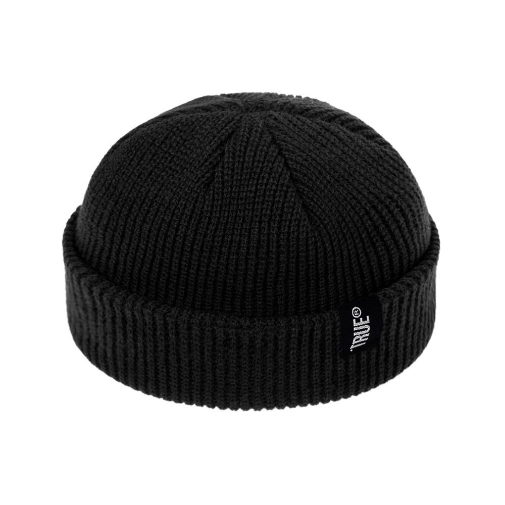 2019 Fashion Unisex Winter Hat Men Cuffed Cib Knit Hat Short Melon Ski Beanies Autumn Winter Solid Color Casual Beanie Hat 7